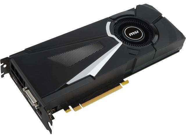 MSI GeForce GTX 1080 DirectX 12 GTX 1080 AERO 8G OC Video Card - Newegg com