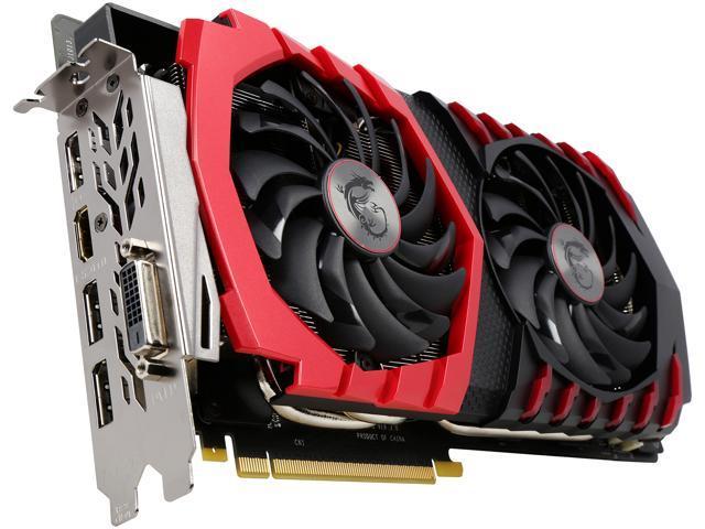 MSI GeForce GTX 1080 DirectX 12 GTX 1080 GAMING 8G Video Card - Newegg com