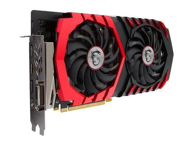 MSI GeForce GTX 1060 DirectX 12 GTX 1060 GAMING X 6G Video Card - Newegg com