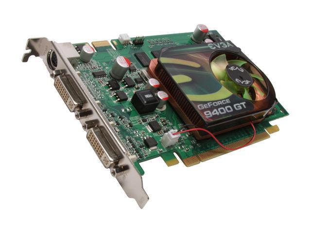 EVGA GeForce 9400 GT DirectX 10 01G-P3-N945-LR 1GB 128-Bit GDDR2 PCI  Express 2 0 x16 HDCP Ready SLI Support Video Card - Newegg com