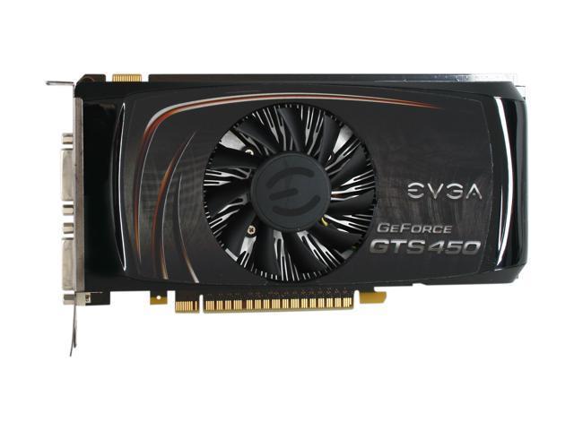 EVGA 01G-P3-1452-TR GeForce GTS 450 (Fermi) Superclocked 1GB 128-bit GDDR5  PCI Express 2 0 x16 HDCP Ready SLI Support Video Card - Newegg com