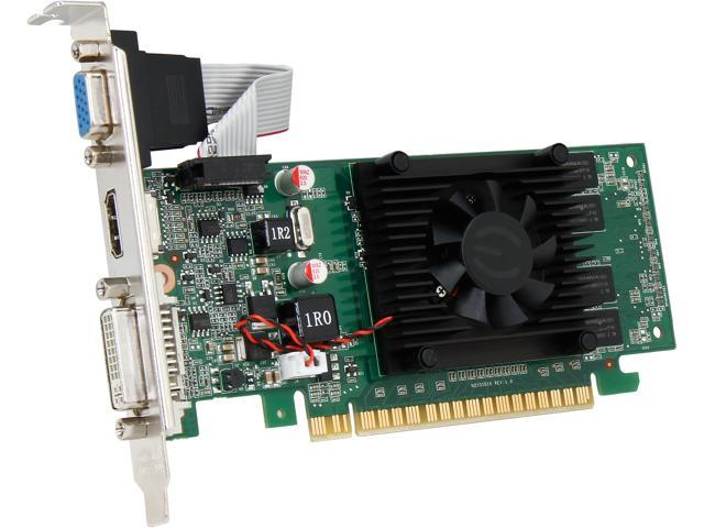EVGA GeForce 8400 GS DirectX 10 01G-P3-1302-LR 1GB 64-Bit DDR3 PCI Express 2.0 x16 HDCP Ready Video Card