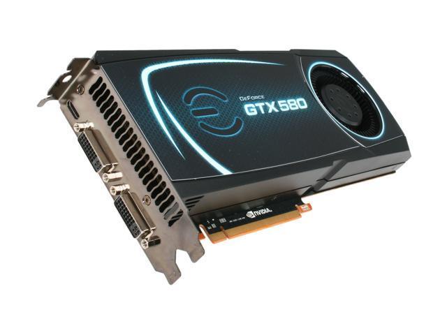 Evga GeForce GTX 580 1.5GB Dual-DVI Graphics Card *MAKE OFFER*