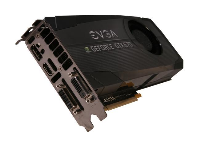 Nvidia Geforce EVGA GTX 670 FTW 2048 MB GDDR5 Video Graphics Card