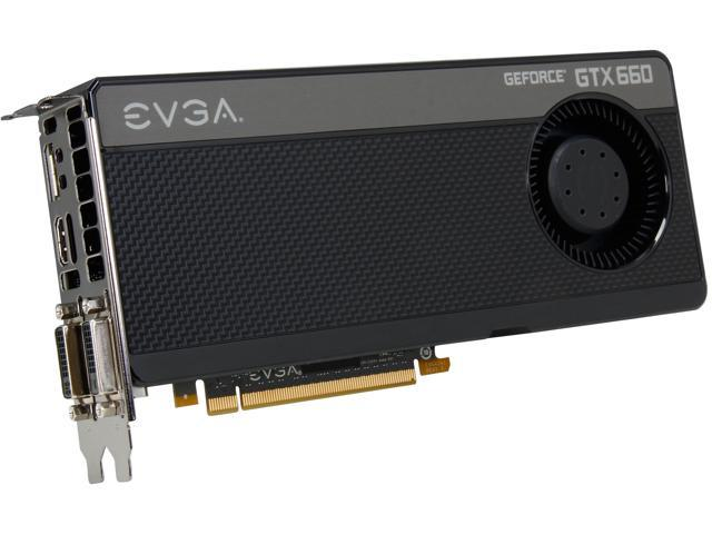 Used - Very Good: EVGA GeForce GTX 600 SuperClocked GeForce GTX 660 DirectX  12 (feature level 11_0) 02G-P4-2662-KR Video Card - Newegg com