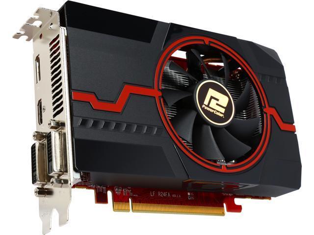PowerColor Radeon R7 260X DirectX 11 2 AXR7 260X 2GBD5-DHV3E/OC Video Card  - Newegg com
