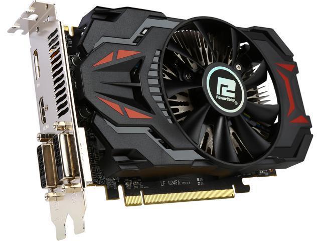 PowerColor Radeon R7 260X DirectX 11 2 AXR7 260X 2GBD5-DHV4E/OC Video Card  - Newegg com