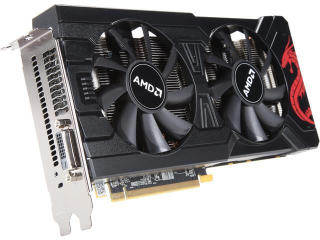 PowerColor Radeon RX 570 DirectX 12 AXRX 570 8GBD5-DMV3 8GB 256-Bit GDDR5  PCI Express 3 0 CrossFireX Support ATX Cryptocurrency Video Card - Brown  Box