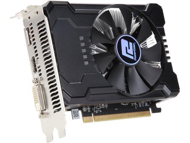 Powercolor Radeon Rx 550 Directx 12 Axrx 550 2gbd5 Dha Oc Video Card Newegg Com