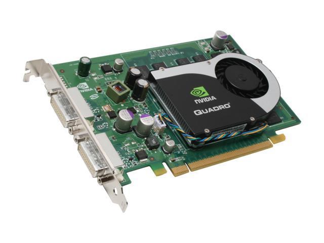 NVIDIA Quadro FX 570-256MB PCI Express x16 Dual DVI Graphics Card Workstation