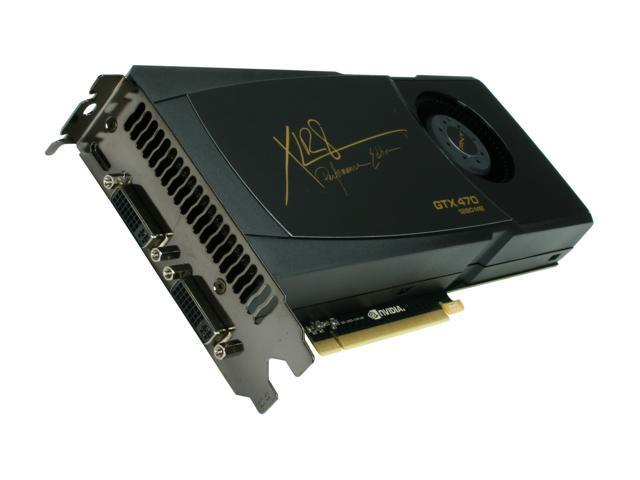 PNY XLR8 GeForce GTX 470 (Fermi) DirectX 11 VCGGTX470XPB 1280MB 320-Bit  GDDR5 PCI Express 2 0 x16 HDCP Ready SLI Support Video Card - Newegg com