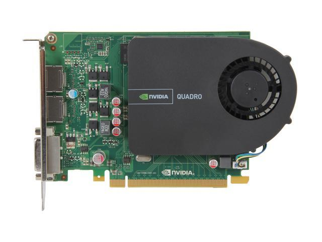 PNY Quadro 2000 VCQ2000-PB 1GB 128-bit GDDR5 PCI Express 2 0 x16  Workstation Video Card