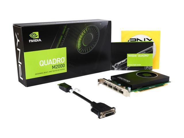 PNY Quadro M2000 VCQM2000-PB 4GB 128-bit GDDR5 PCI Express 3 0 x16  Workstation Video Card - Newegg com