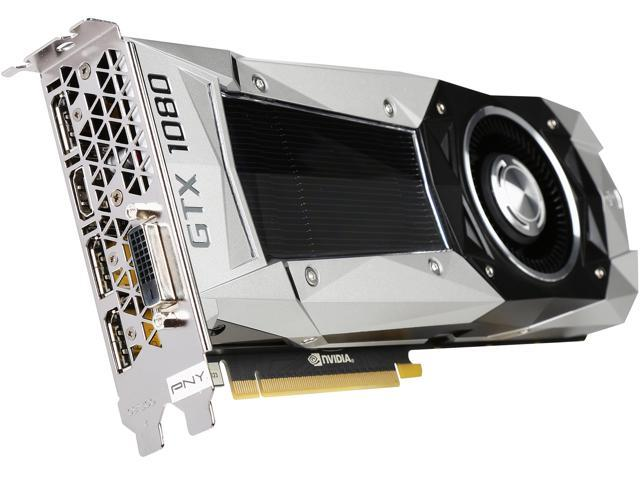 PNY GeForce GTX 1080 Founders Edition 8GB GDDR5X PCI Express 3 0 Graphics  Card VCGGTX10808PB-CG - Newegg com
