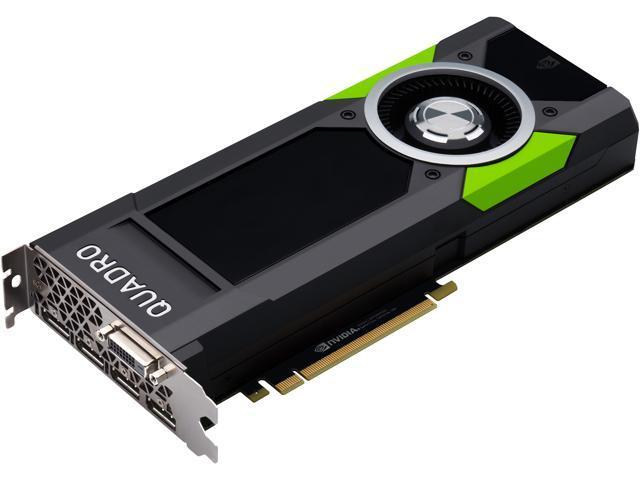 PNY Quadro P5000 VCQP5000-PB 16GB 256-bit GDDR5X PCI Express 3 0 x16 Full  Height Video Card - Workstation - Newegg com