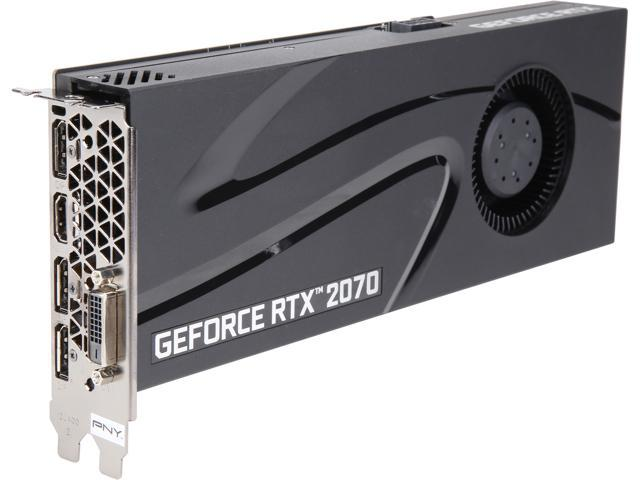 PNY GeForce RTX 2070 DirectX 12 VCG20708BLMPB Video Card - Newegg com