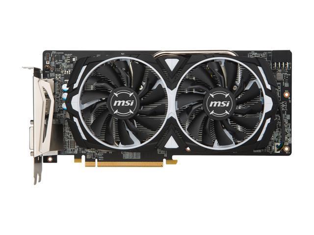 MSI Radeon RX 480 DirectX 12 RX 480 ARMOR 4G OC Video Card - Newegg com