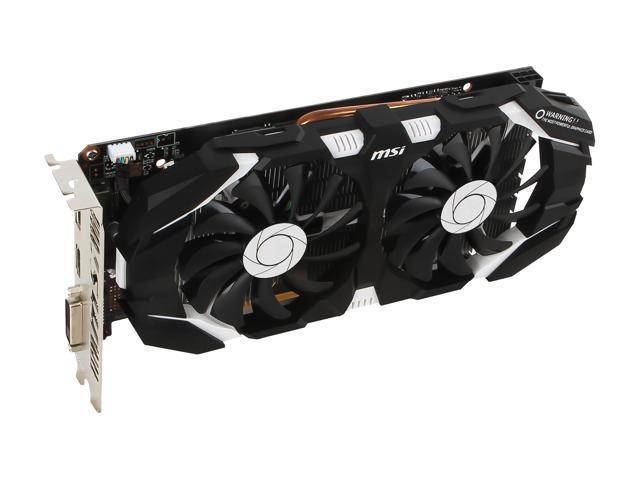 MSI GeForce GTX 1060 DirectX 12 GTX 1060 6GT OCV1 Video Card - Newegg com