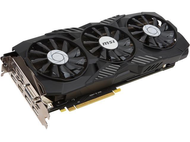 MSI GeForce GTX 1080 DirectX 12 GTX 1080 DUKE 8G OC Video Cards - Newegg com