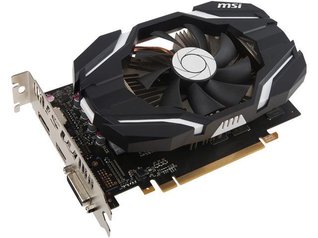 MSI GeForce GTX 1060 DirectX 12 GTX 1060 6G OCV1 Video Card - Newegg com