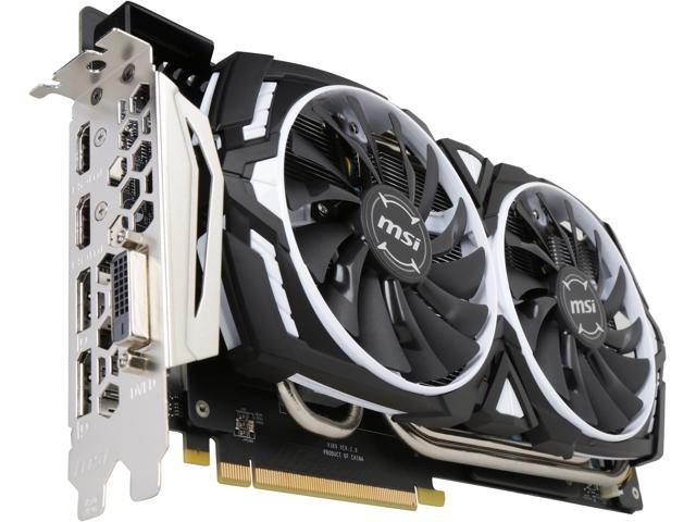 MSI GeForce GTX 1080 Ti DirectX 12 GeForce GTX 1080 TI ARMOR 11G OC Video  Card - Newegg ca