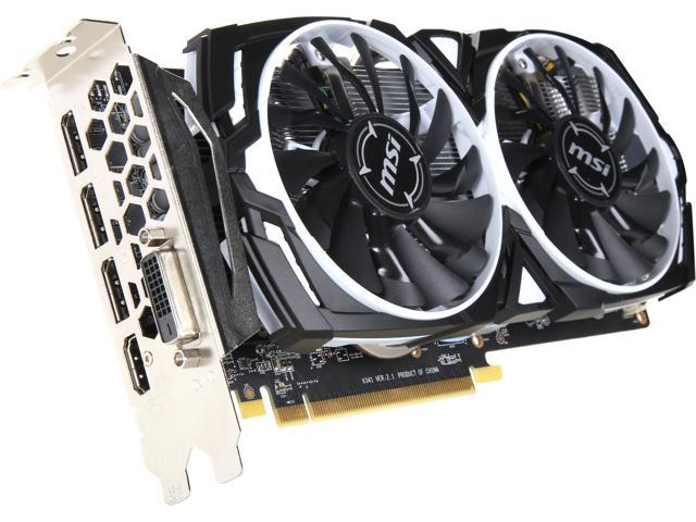 Refurbished: MSI Radeon RX 570 DirectX 12 RADEON RX 570 ARMOR 4G OC Video  Card - Newegg com