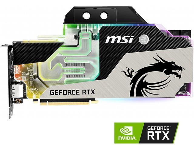 MSI GeForce RTX 2080 Ti DirectX 12 RTX 2080 TI SEA HAWK EK X