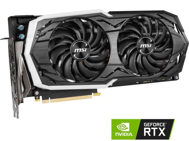 MSI GeForce RTX 2070 DirectX 12 RTX 2070 ARMOR 8G Video Card - Newegg com
