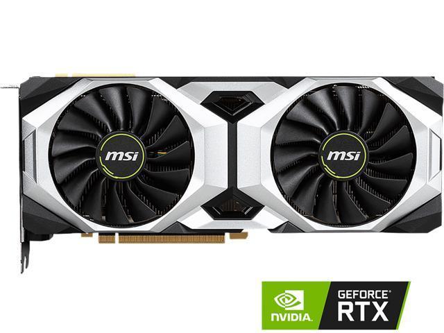 MSI GeForce RTX 2080 DirectX 12 RTX 2080 VENTUS 8G Video Card - Newegg com