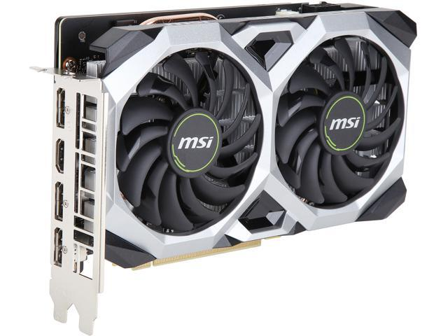 MSI GeForce GTX 1660 DirectX 12 GTX 1660 VENTUS XS 6G OC Video Card -  Newegg com