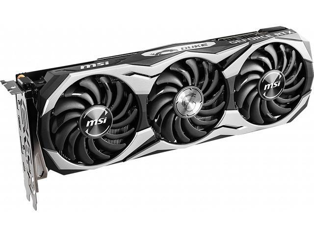 MSI GeForce RTX 2070 DirectX 12 RTX 2070 DUKE 8G OCV1 Video Card -  Newegg com