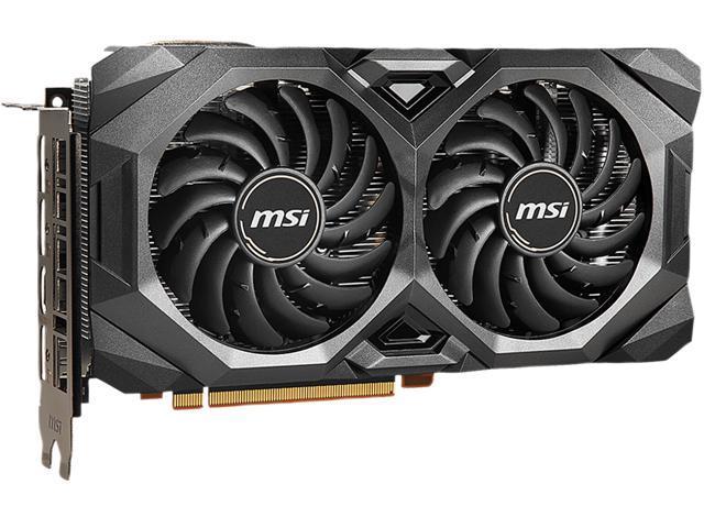 Msi Radeon Rx 5600 Xt Directx 12 Rx 5600 Xt Mech Oc Video Card Newegg Com