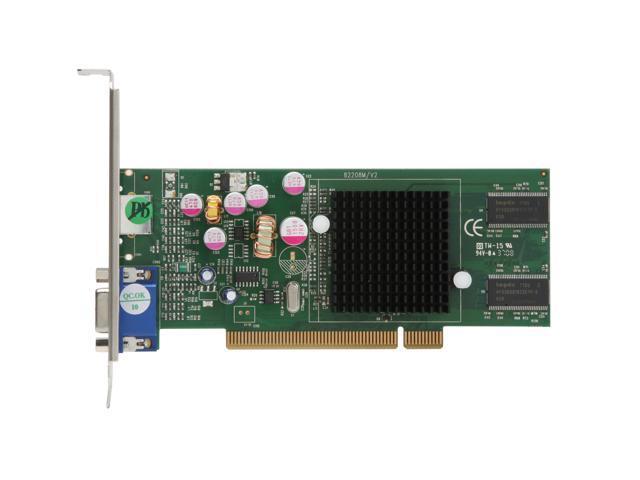 SVGA /& S-Video Ports JATON 208PCI-128Twin PCI Low Profile Bracket Video Card