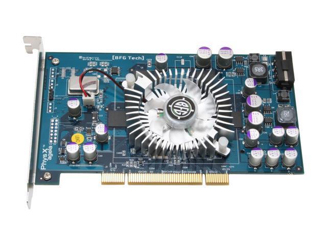 BFG Tech PhysX Processing Unit BFGRPHYSX128P 128MB 128-Bit GDDR3 PCI  Physics Card - Newegg com
