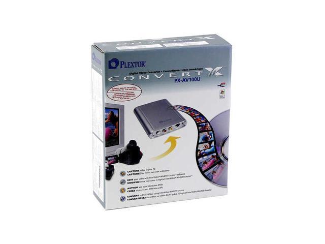 PLEXTOR DIGITAL VIDEO CONVERTER PX-AV100U DRIVER FOR MAC