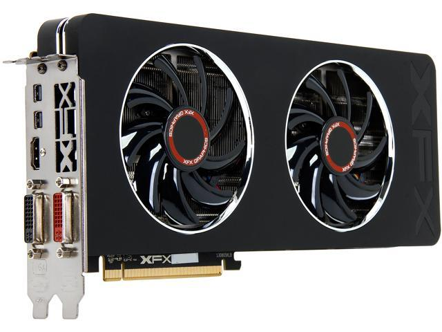 XFX Radeon R9 280X DirectX 11 2 R9-280X-TDFD Double Dissipation Edition  Video Card - Newegg com