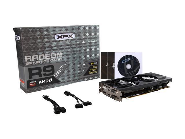 XFX Radeon R9 390X DirectX 12 R9-390X-8256 Video Card - Newegg com