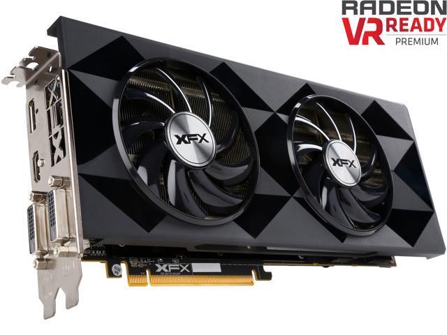 XFX BLACK Edition Radeon R9 390 DirectX 12 R9-390P-8286 Video Card -  Newegg com
