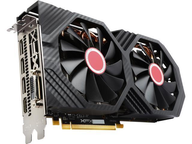 XFX Radeon RX 580 DirectX 12 RX-580P8DFD6 XXX Edition 8GB 256-Bit GDDR5 PCI  Express 3 0 CrossFireX Support Video Card - Newegg com