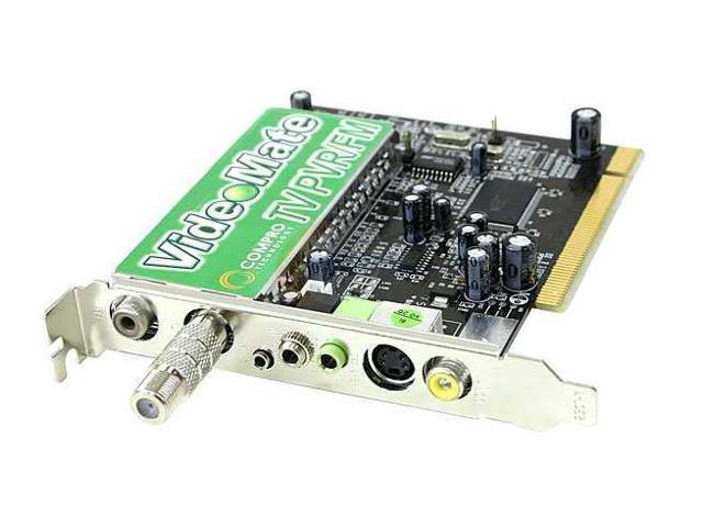 COMPRO VideoMate TV PVR FM Tuner Card REMOTE