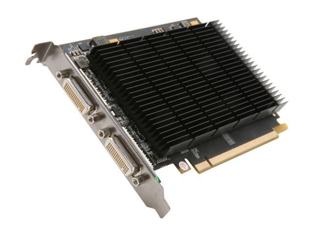 Galaxy 21GGE4AM9EKP MDT X4 GeForce 210 Multi Display 1GB 64-bit DDR2 PCI Express 2.0 x16 HDCP Ready  Video Card