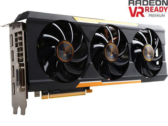 SAPPHIRE Radeon R9 390X DirectX 12 100381OCL Tri-X OC Version (UEFI) Video  Card - Newegg com