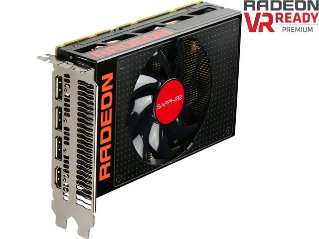 SAPPHIRE Radeon R9 Nano 100400SR 4GB 4096-Bit HBM PCI Express 3.0 x16 HDCP Ready CrossFireX Support Video Card
