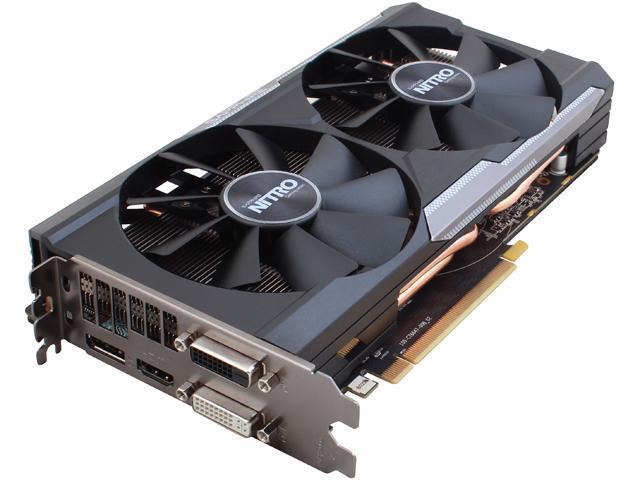 SAPPHIRE NITRO Radeon R9 380 DirectX 12 100384NT4GOC-2L Dual-X OC Version  w/ backplate (UEFI) Video Card - Newegg com