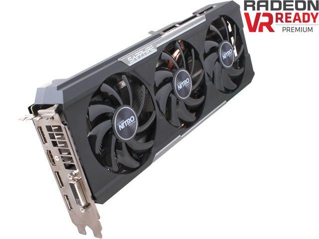 SAPPHIRE NITRO Radeon R9 390X DirectX 12 100381NTOCL OC Version w/  backplate (UEFI) Video Card - Newegg com