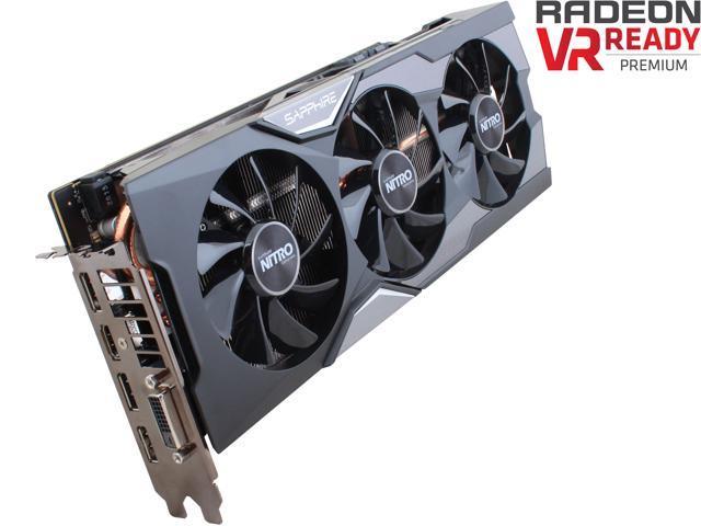 SAPPHIRE NITRO Radeon R9 Fury 100379NTOCSR TRI-X OC (UEFI) Video Card -  Newegg com