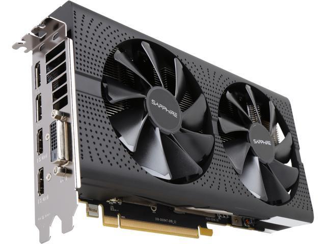 Sapphire PULSE Radeon RX 570 4GB GDDR5 PCI-E Dual HDMI / DVI-D / Dual DP OC  w/ Backplate (UEFI), 100412P4GOCL - Newegg com