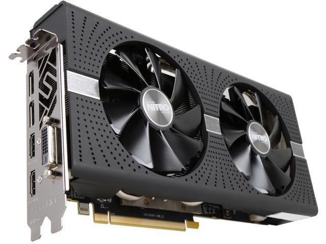 Sapphire Radeon NITRO+ RX 570 4GB GDDR5 PCI-E Dual HDMI / DVI-D / Dual DP  w/ Backplate (UEFI), 100412NT+4GL - Newegg com