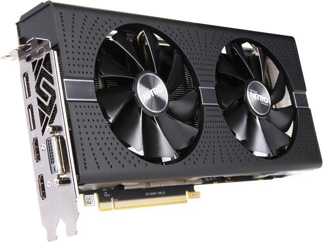 SAPPHIRE NITRO+ Radeon RX 580 DirectX 12 100411NT+4G-2L Video Card w/  Backplate (UEFI), SAMSUNG MEMORY - Newegg com