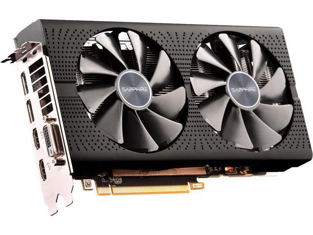 Sapphire Radeon PULSE RX 590 8GB GDDR5 PCI-E Dual HDMI / DVI-D / Dual DP w/  Backplate - Newegg com